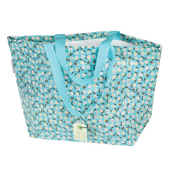LARGE DAISY SHOPPING BAG