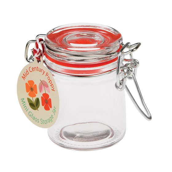 mini glass spice jar