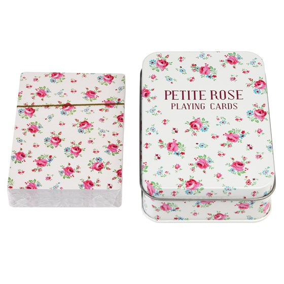 LA PETITE ROSE PLAYING CARDS IN A TIN