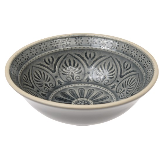 marrakesh mezze bowl grey