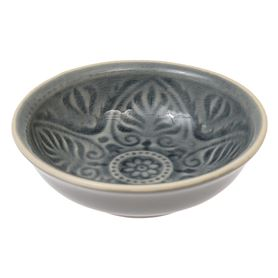 grey marrakesh dipping bowl