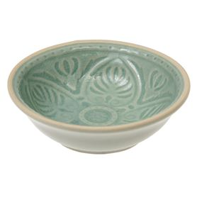 mint green marrakesh dipping bowl