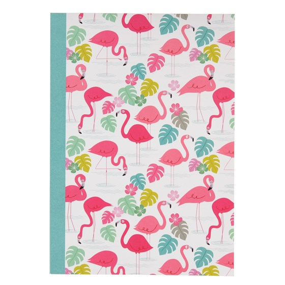 "carnet de notes a5 "" flamingo bay"""