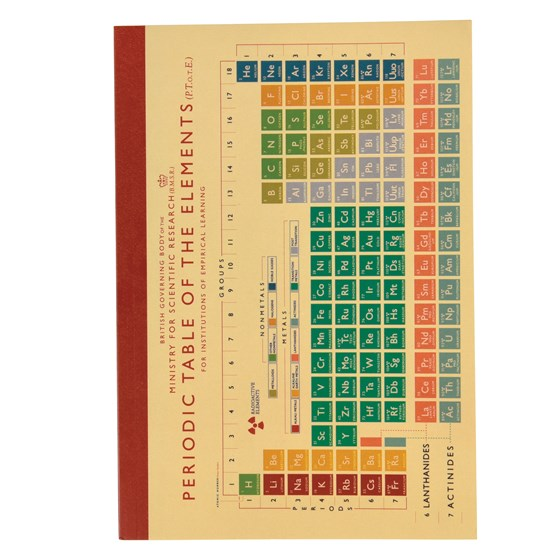 PERIODIC TABLE A5 NOTEBOOK