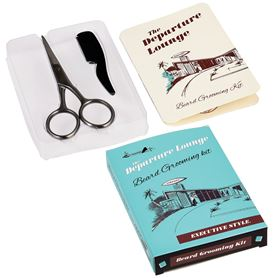 departure lounge beard grooming set