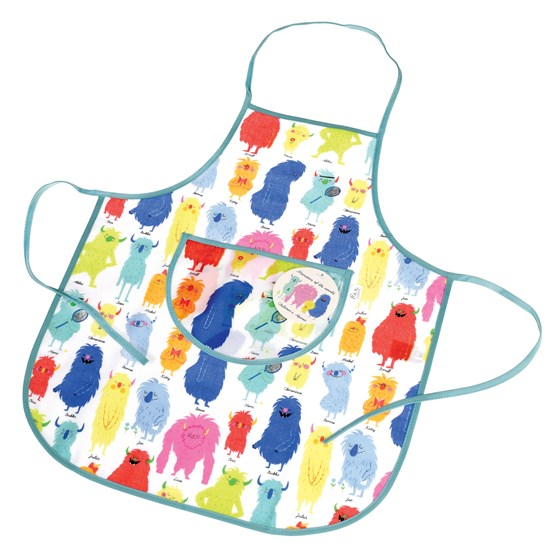 MONSTERS OF THE WORLD CHILDREN'S APRON