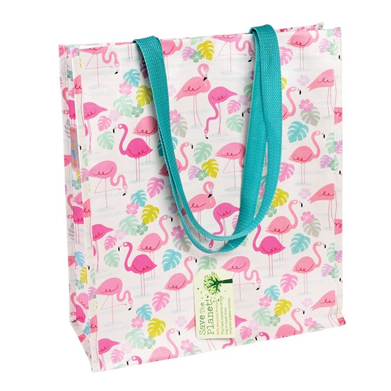 flamingo bay shopping bag