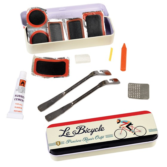 LE BICYCLE PUNCTURE REPAIR KIT