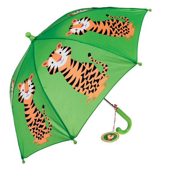 TEDDY THE TIGER CHILDREN'S UMBRELLA