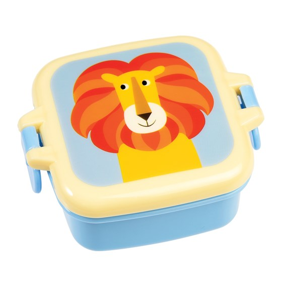 charlie the lion mini snack pot