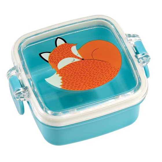 rusty the fox mini snack pot