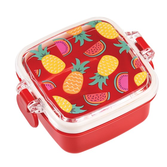 tropical fruit mini snack pot