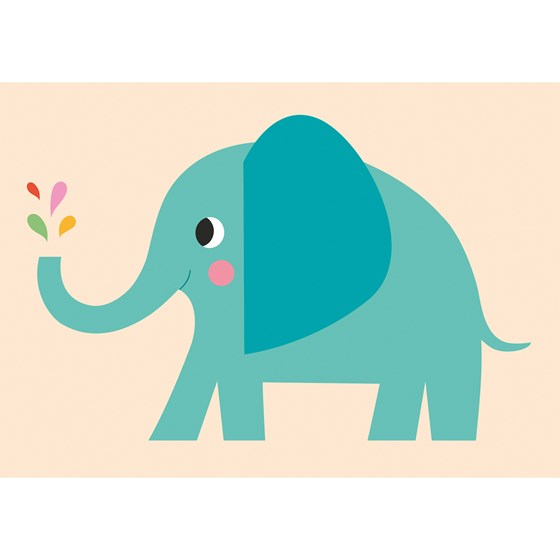 ELVIS THE ELEPHANT CARD