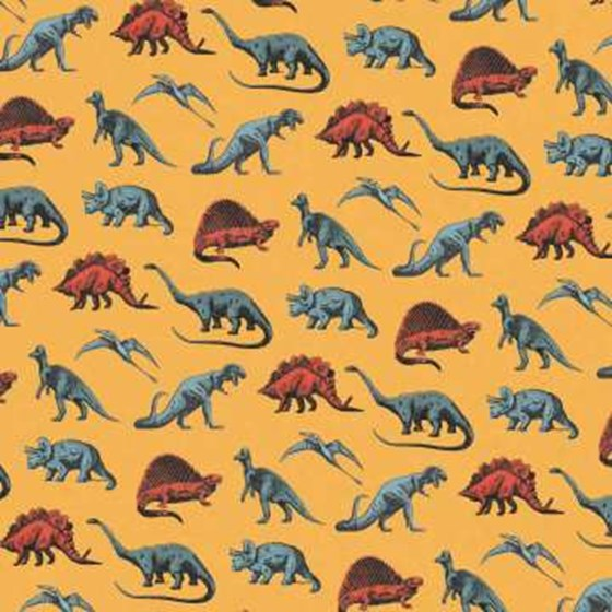 prehistoric land wrapping paper