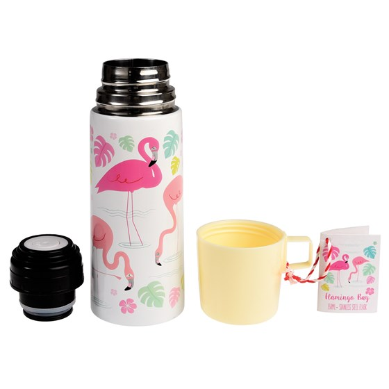 "thermosflasche ""flamingo bay"""