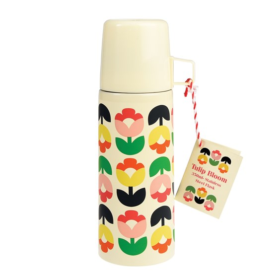 TULIP BLOOM FLASK AND CUP