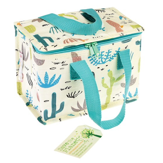 desert in bloom lunch bag