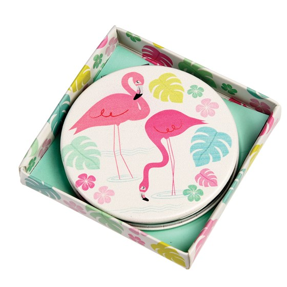 FLAMINGO BAY COMPACT MIRROR
