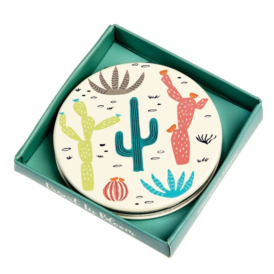 DESERT IN BLOOM COMPACT MIRROR