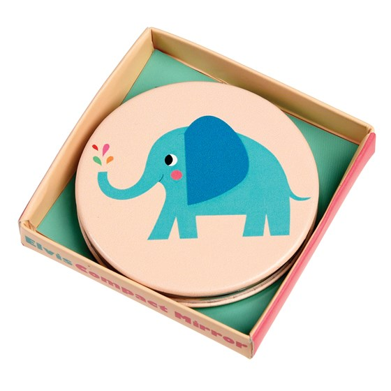 elvis the elephant compact mirror