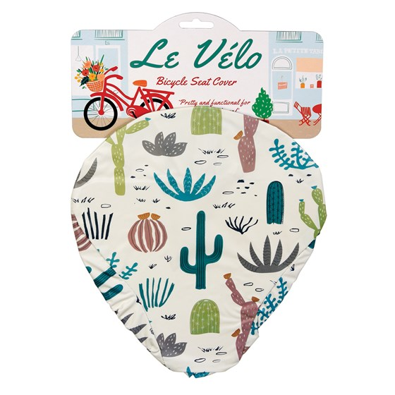 funda para asiento de bicicleta desert in bloom