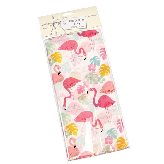 flamingo bay tissue paper (10 sheets)