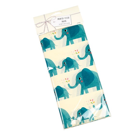 elvis the elephant tissue paper (10 sheets)