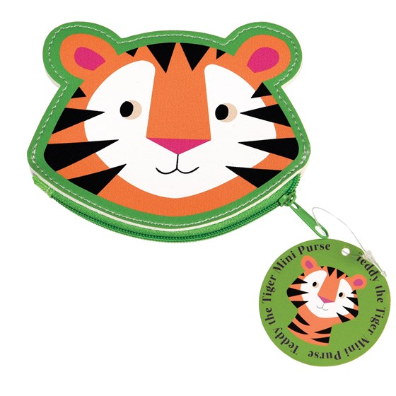 TEDDY THE TIGER VINYL PURSE