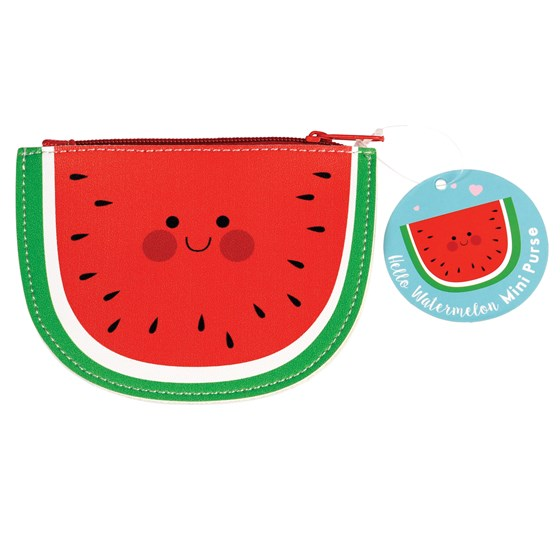 HELLO WATERMELON VINYL PURSE