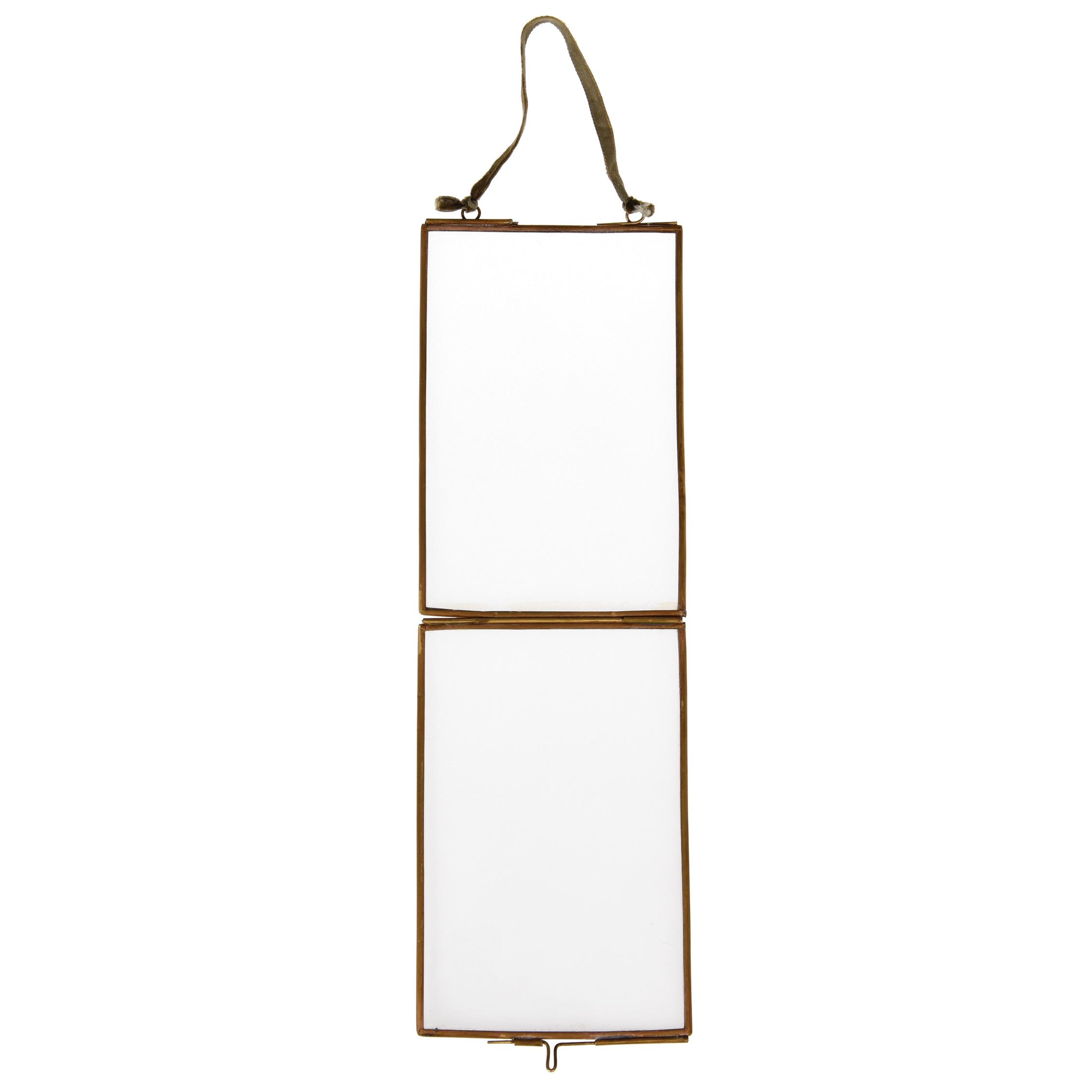 Bilderrahmen Zum Aufhängen Aus Glas Und Messing 15X10cm ...