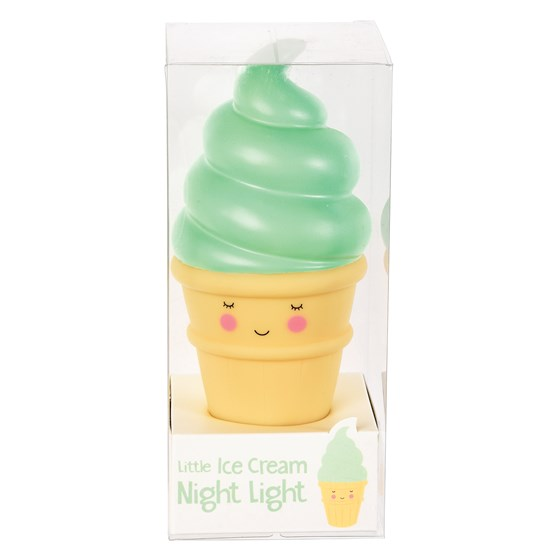 pistachio ice cream night light