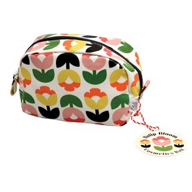 tulip bloom make up bag