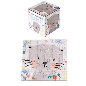 "24teiliges mini-puzzle ""lilly the cat"""