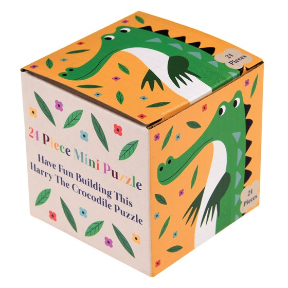 harry the crocodile 24 piece mini puzzle