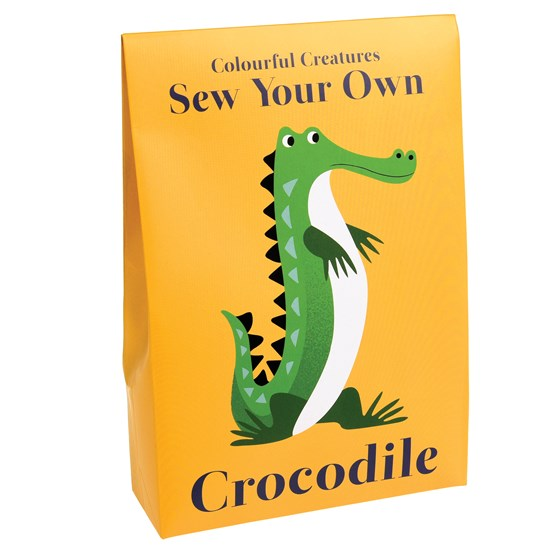 SEW YOUR OWN CROCODILE