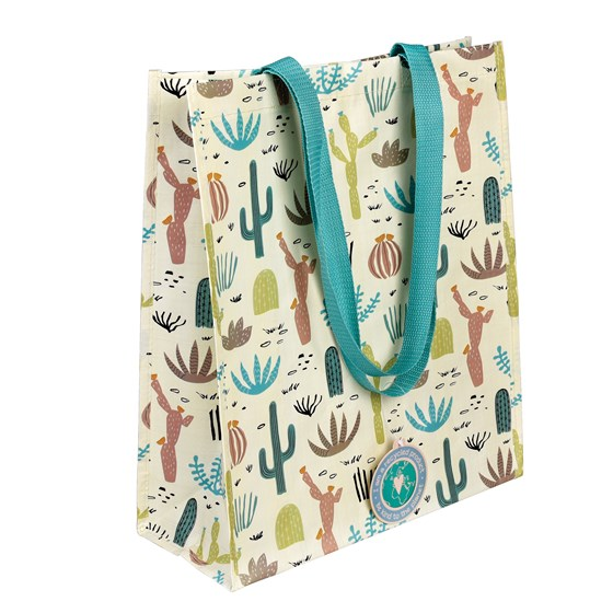 desert in bloom shopping bag