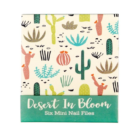 DESERT IN BLOOM MINI NAIL FILES