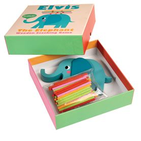elvis the elephant stacking sticks game