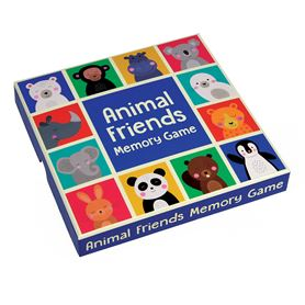 animal friends memory cards