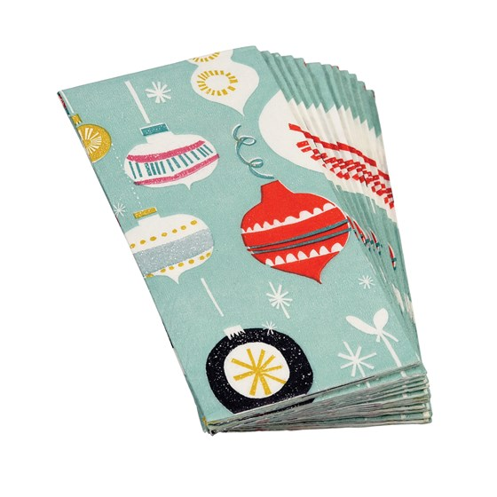 pack of 12 jolie noel tissues
