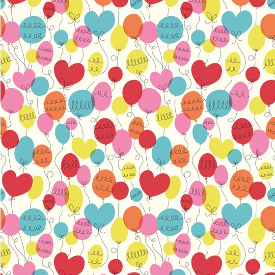 PARTY BALLOON WRAPPING PAPER