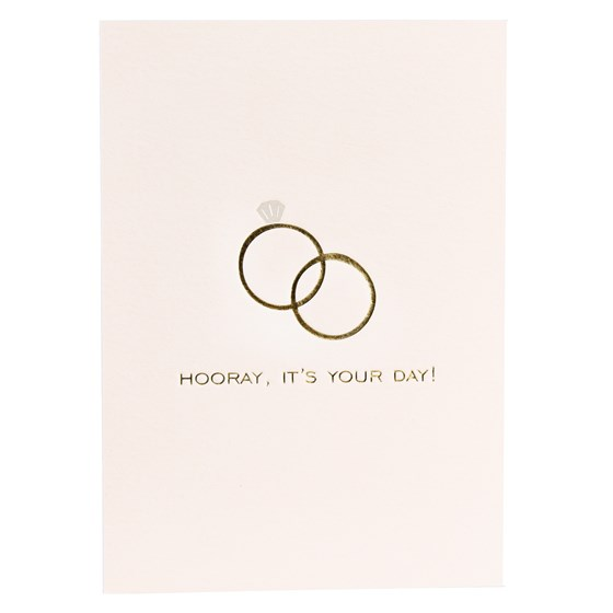 hooray it's your day card