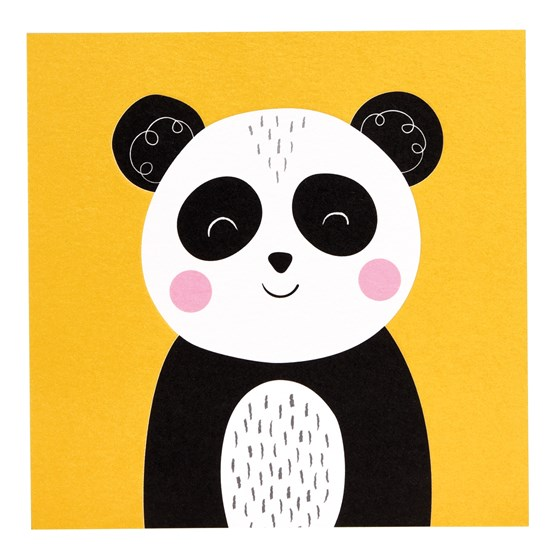 PANDA ANIMAL FRIEND CARD