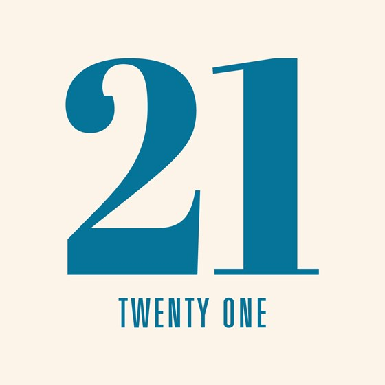 twenty one card