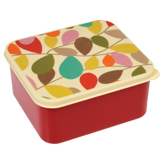 VINTAGE IVY LUNCH BOX RED BASE