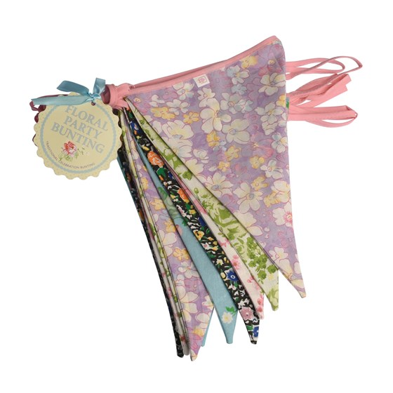 ENGLISH ROSE PARTY BUNTING