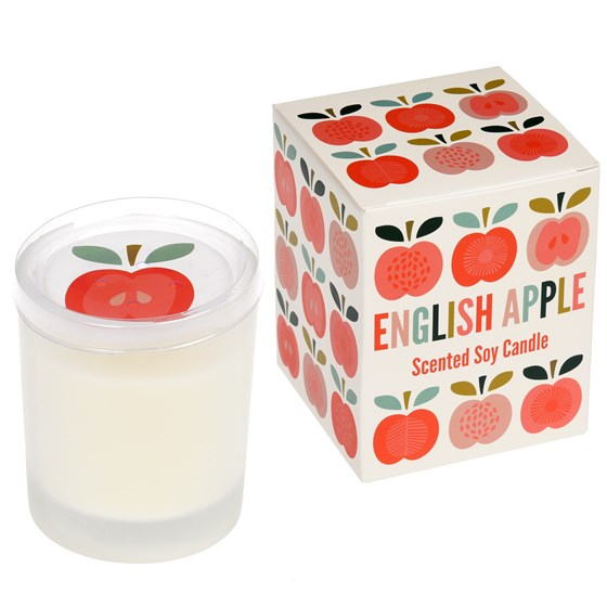 VINTAGE APPLE BOXED SCENTED SOY CANDLE