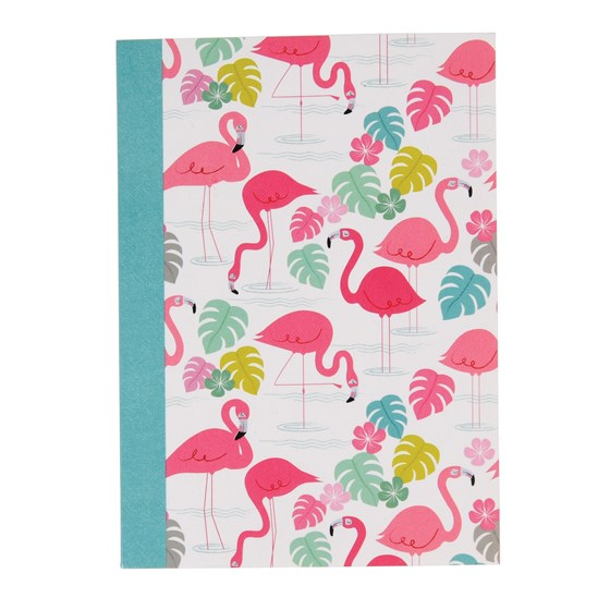 "carnet de notes a6 "" flamingo bay"""