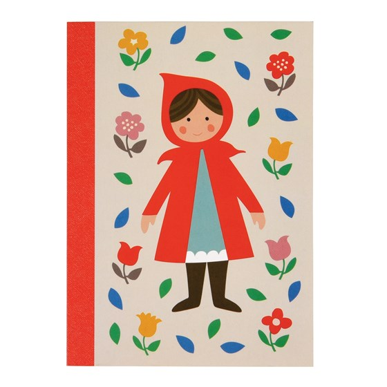red riding hood a6 notebook