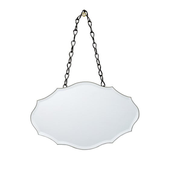 small chantilly bevelled mirror
